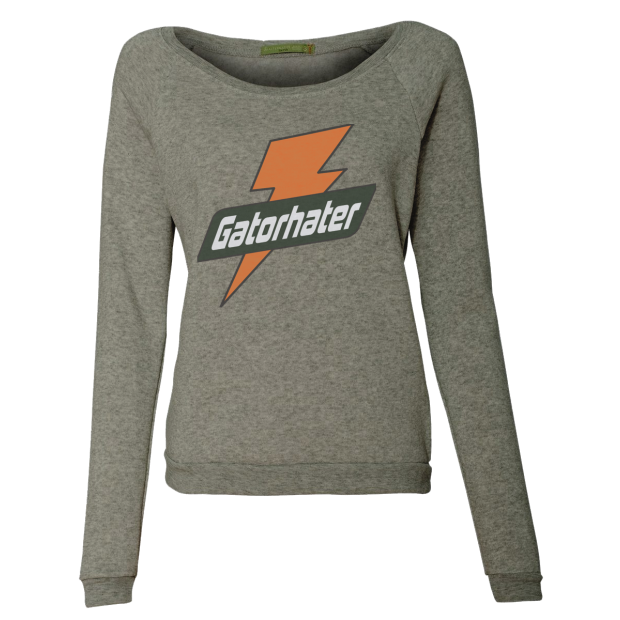 Gator Hater Ladies Sweatshirt