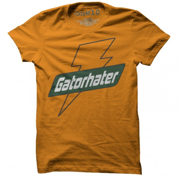 Big Orange Gator Hater T-Shirt