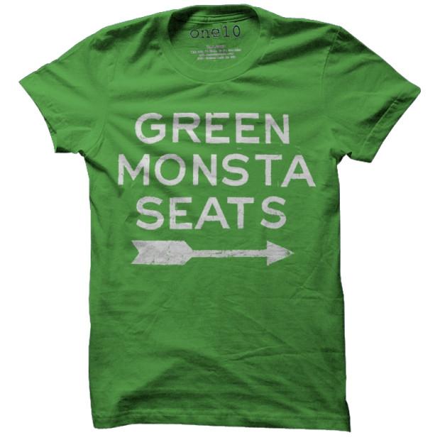 Green Monsta Seats T-Shirt