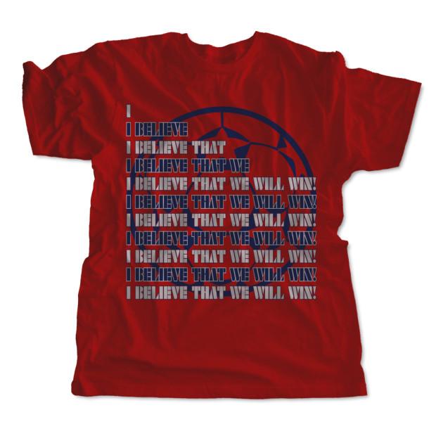 I Believe That We Will Win! Kids T-Shirt