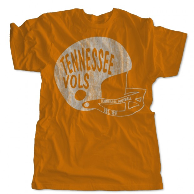 Tennessee Vols Football Helmet
