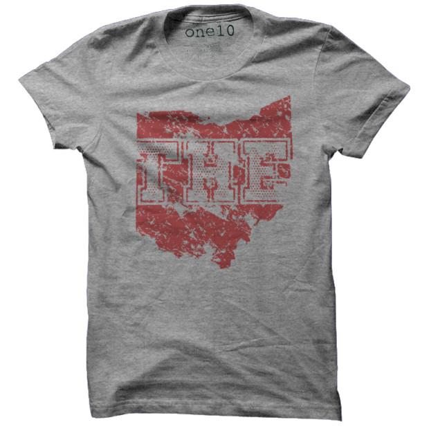 Vintage The Ohio State University T Shirt Retro Buckeye