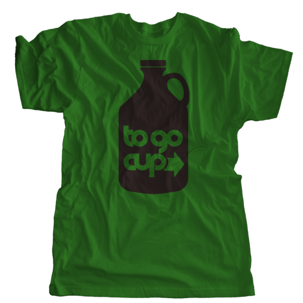 To Go Cup Growler T-Shirt