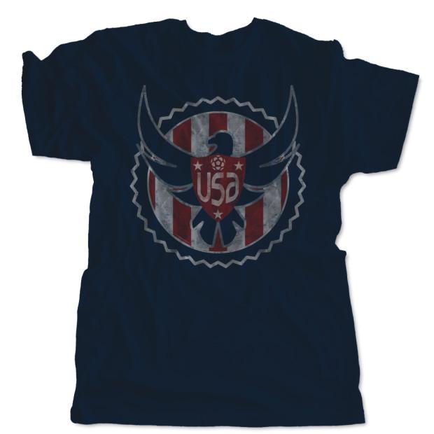 US Soccer Eagle Shield T-Shirt