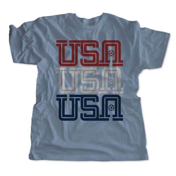 USA, USA, USA Kids T-Shirt