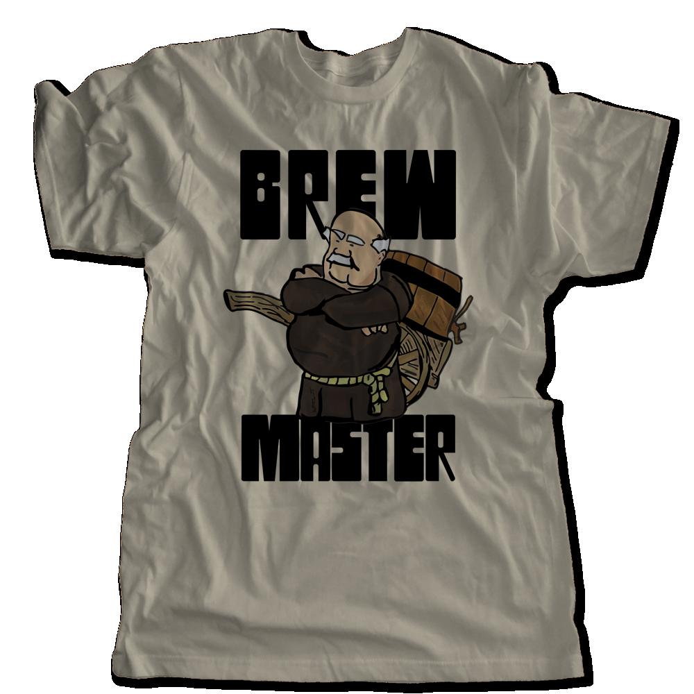 Brew Master Monk T Shirt Homebrew Tee Vintage Craft