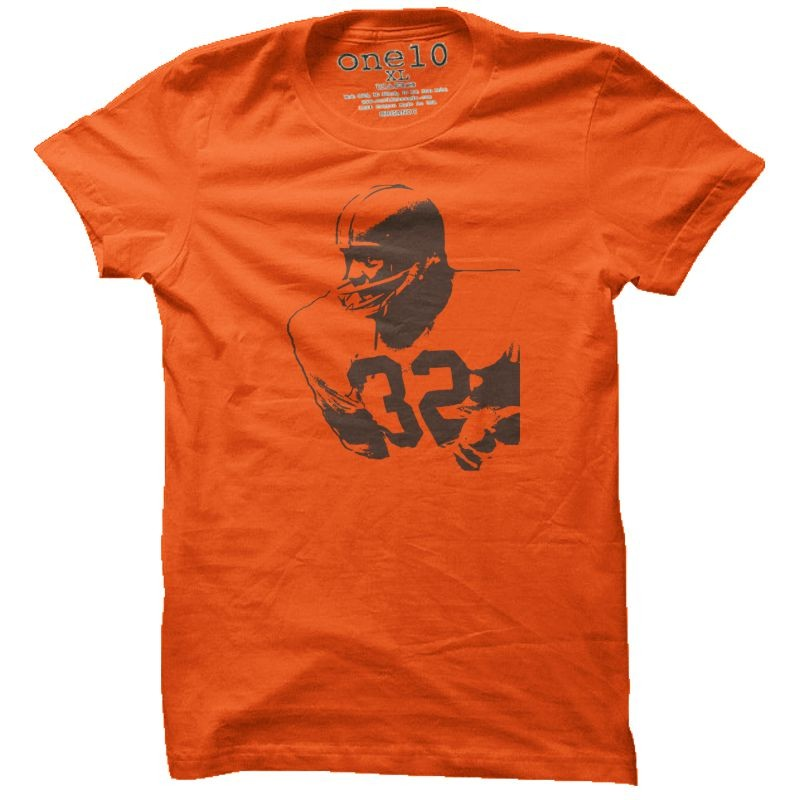 The best Cleveland football shirts, hoodies and accessories in town. Get some our favorite orange and brown football designs today!