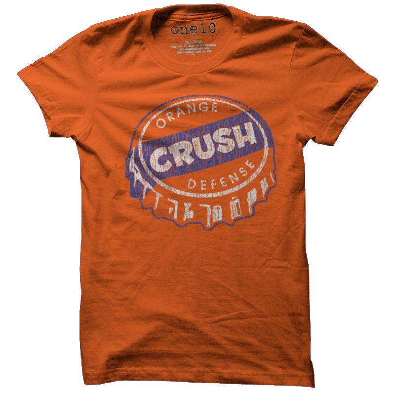Orange Broncos t Shirt Orange Crush Defense T-shirt