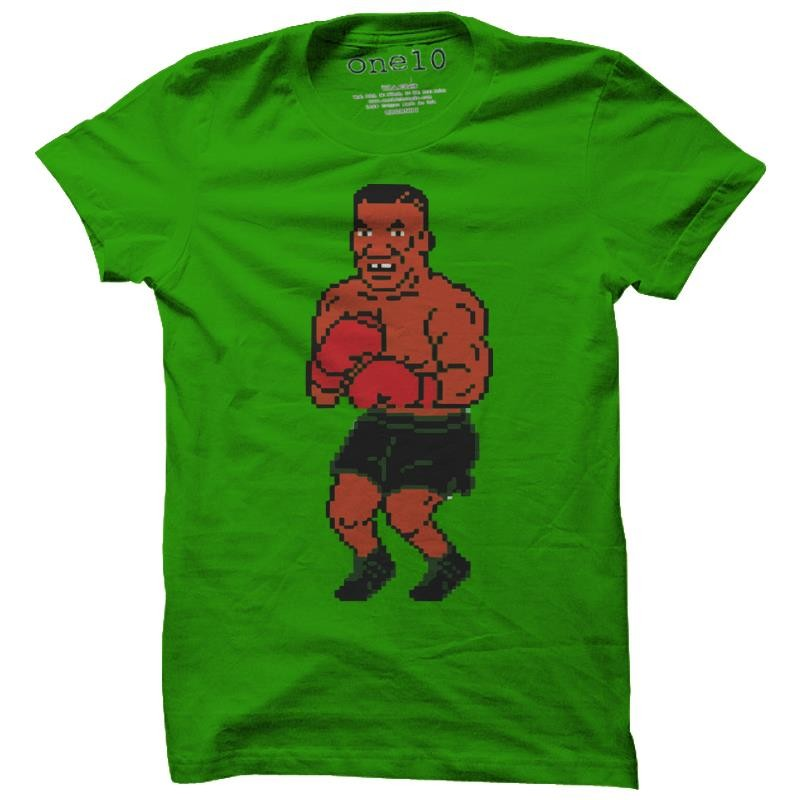 mike tyson 39 s punch out t shirt vintage video game tee. Black Bedroom Furniture Sets. Home Design Ideas