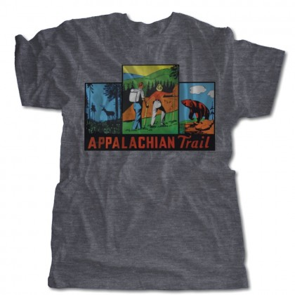 Appalachian Trail Luggage Decal