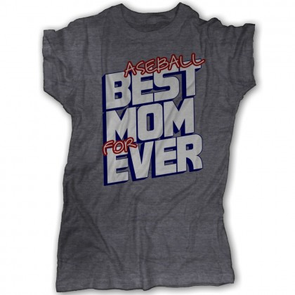 Best Mom Ever Or Baseball Mom Forever Tee | Tri-Blend Heather Tee