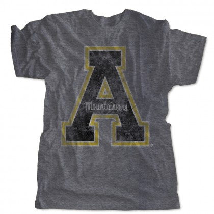 Weathered Appalachian State Block A