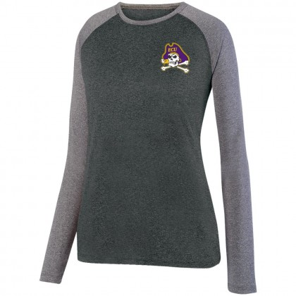 ECU Ladies Performance Raglan T-Shirt