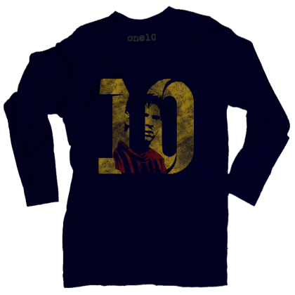 Lionel Messi #10 Long-Sleeve T-Shirt
