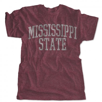 Distressed Mississippi State Arch