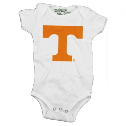 Orange Power T Baby Onesie | Multiple Colors