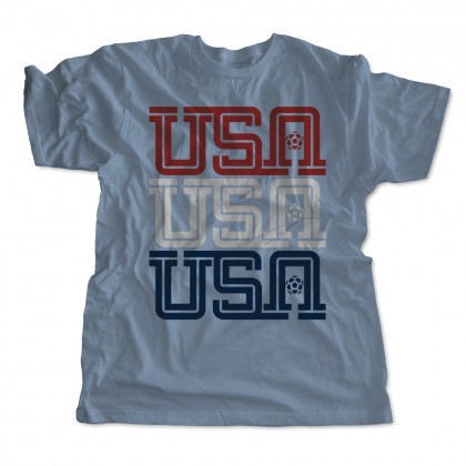 USA, USA, USA Kids T-Shirt
