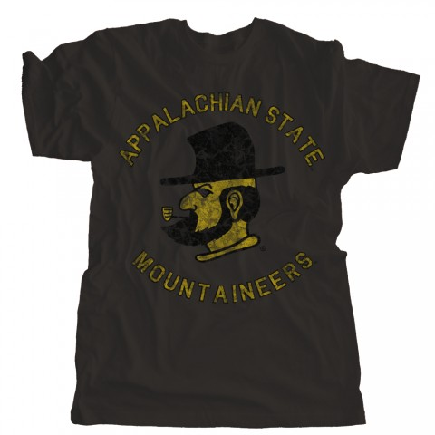 Appalachian State Mountaineers Circle Design
