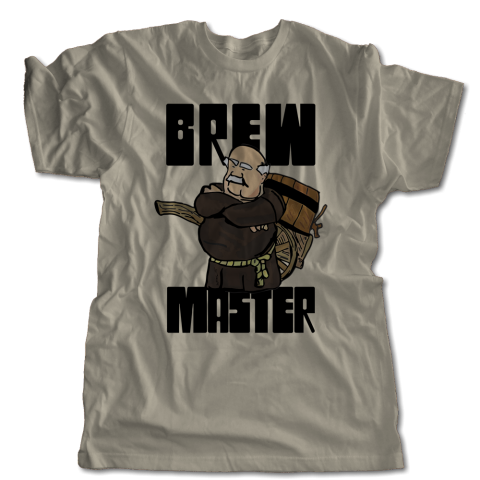 Brew Master Monk T-Shirt