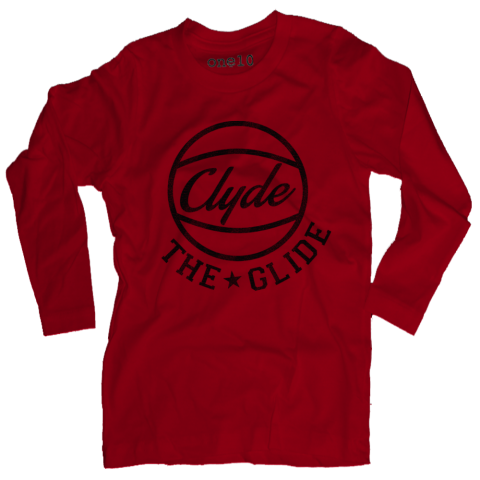 Clyde the Glide Long-Sleeve T-Shirt