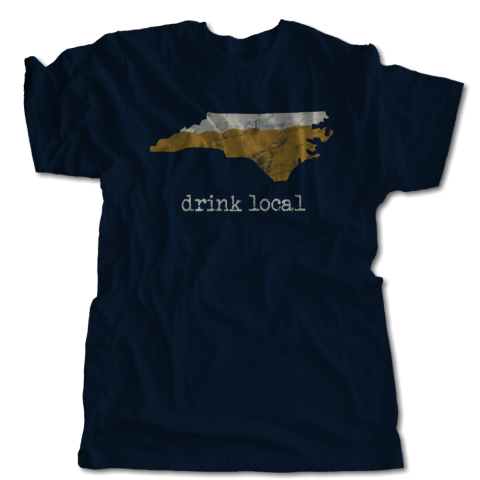 Drink Local Select Your State T-Shirt