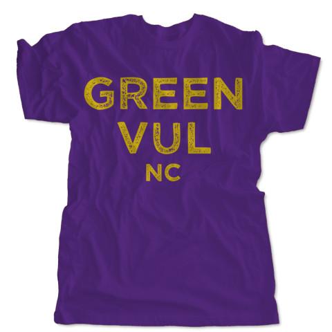 Green Vul, NC T-Shirt