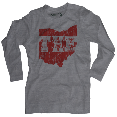 THE State of Ohio Long-Sleeve T-Shirt