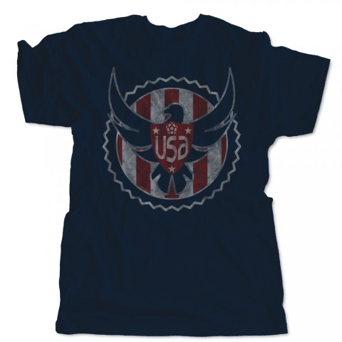 US Soccer Eagle Shield T-Shirt