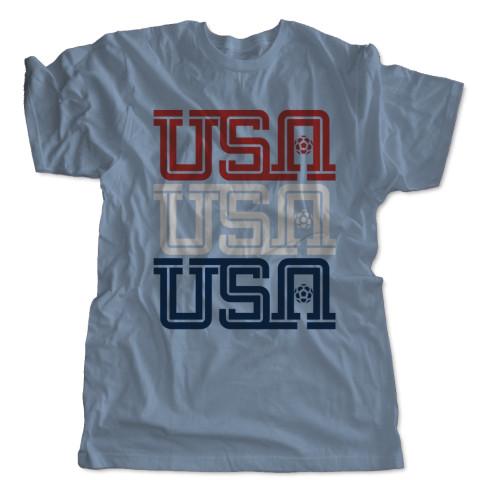 USA, USA, USA T-Shirt