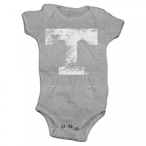 Distressed White Power T Baby Onesie | Multiple Colors