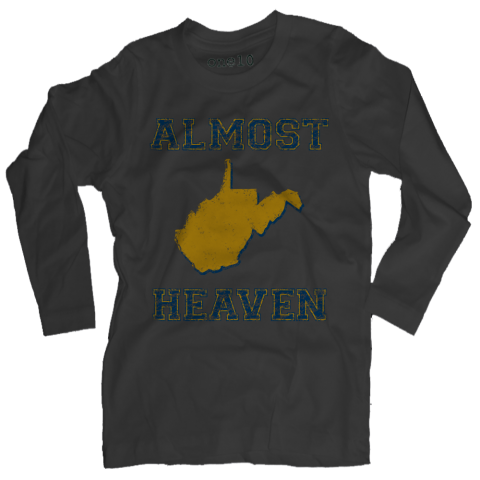 Almost Heaven, West Virginia Long-Sleeve T-Shirt