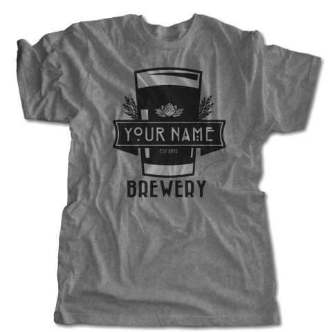 Custom Your Name Brewery T-Shirt