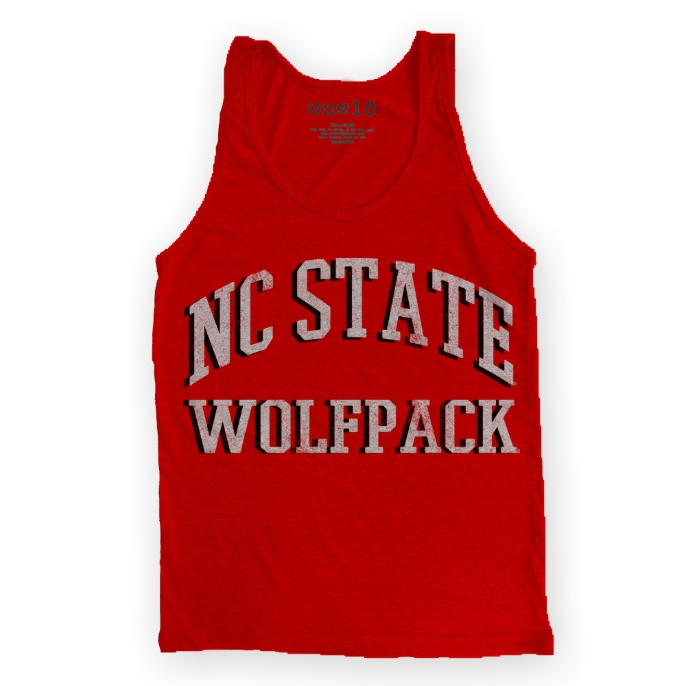 Nc state wolfpack t shirt vintage nc state tank top for Nc state basketball shirt