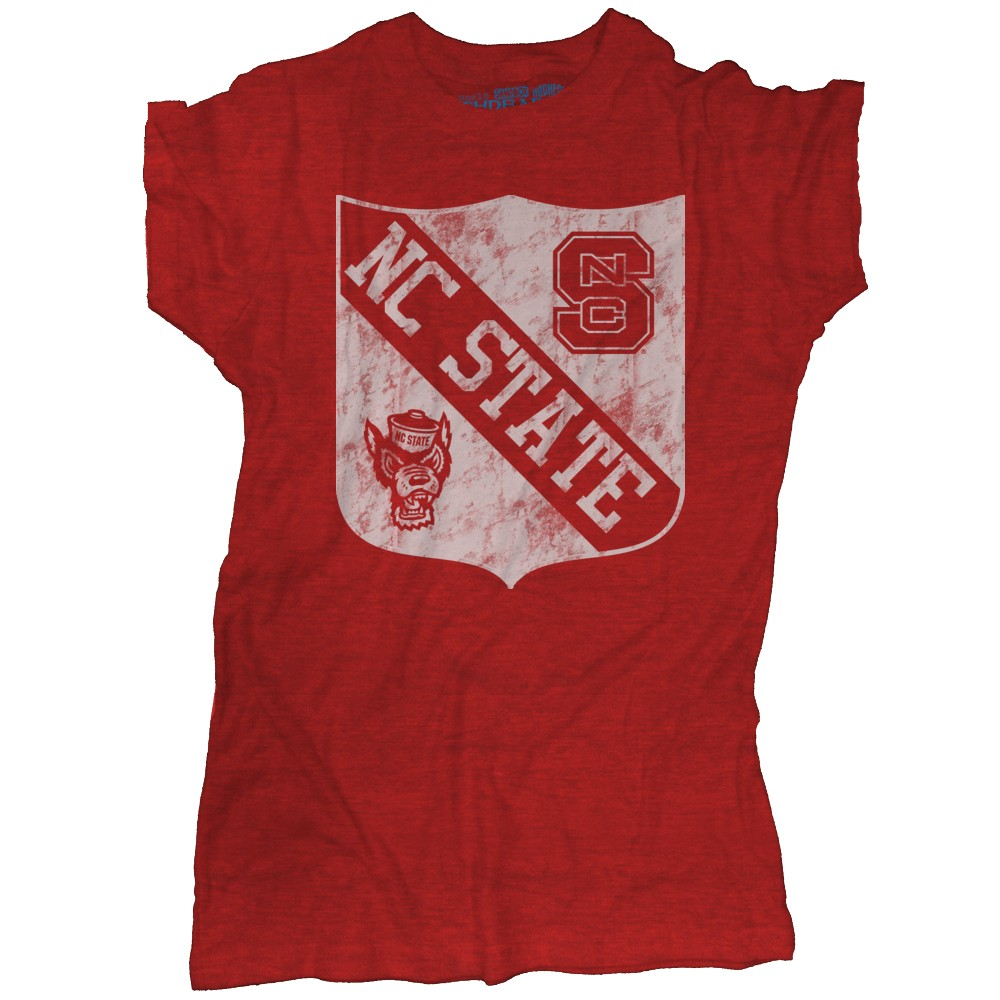 Nc State Shield Short Sleeve T Shirt Vintage Nc State
