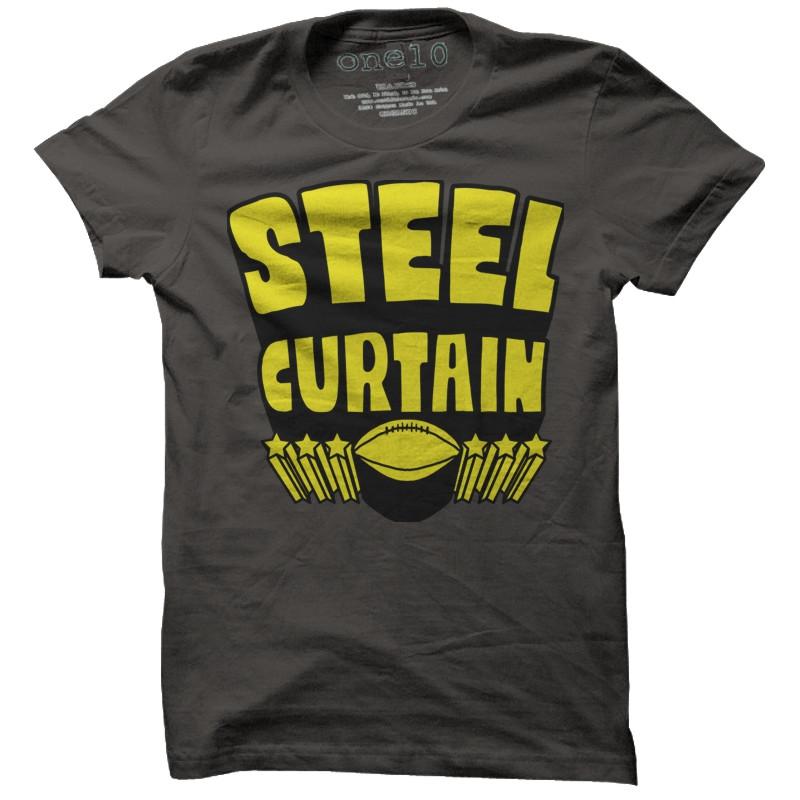 steelers steel curtain t shirt curtain menzilperdenet